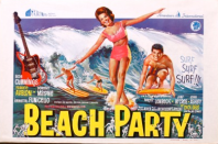 Vintage Beach Party Movie Poster £150