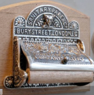 Nickel Bury Street Toilet Roll Holder - £82