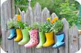What to do with all those old wellies? Here you go!