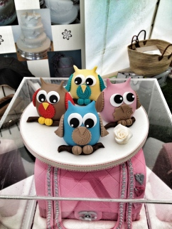 Owls by Vanillapink Cakes