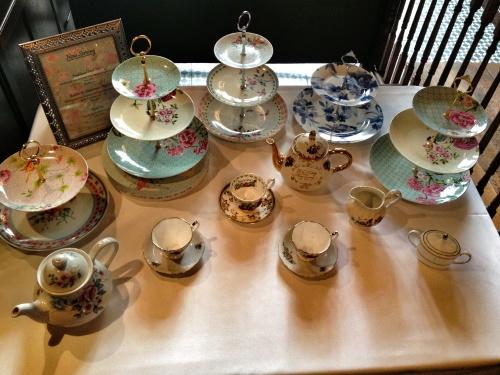 Enjoy afternoon tea
