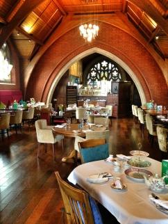 The stunning restaurant