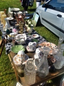 Mixed crockery, still so popular