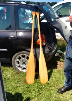 Oars for use or decorative